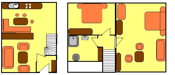 Hof Kilbe Appartement Nr. 2 Grundriss