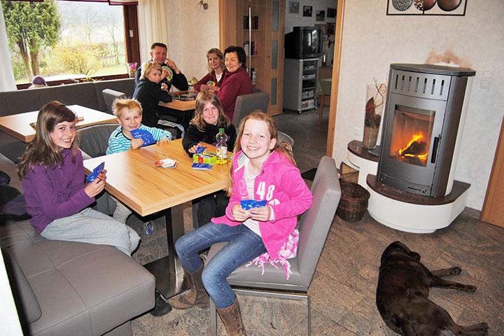 Genießen Sie die gemeinsame Zeit bei einem gemütlichen Familienwochenende auf dem Hof Kilbe in Bad Berleburg