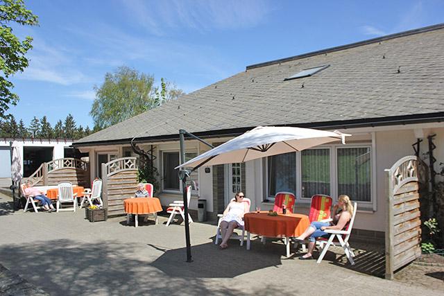 Ferienwohung 11 Terrasse