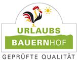 Urlaubsbauernhof geprüfte Qualität